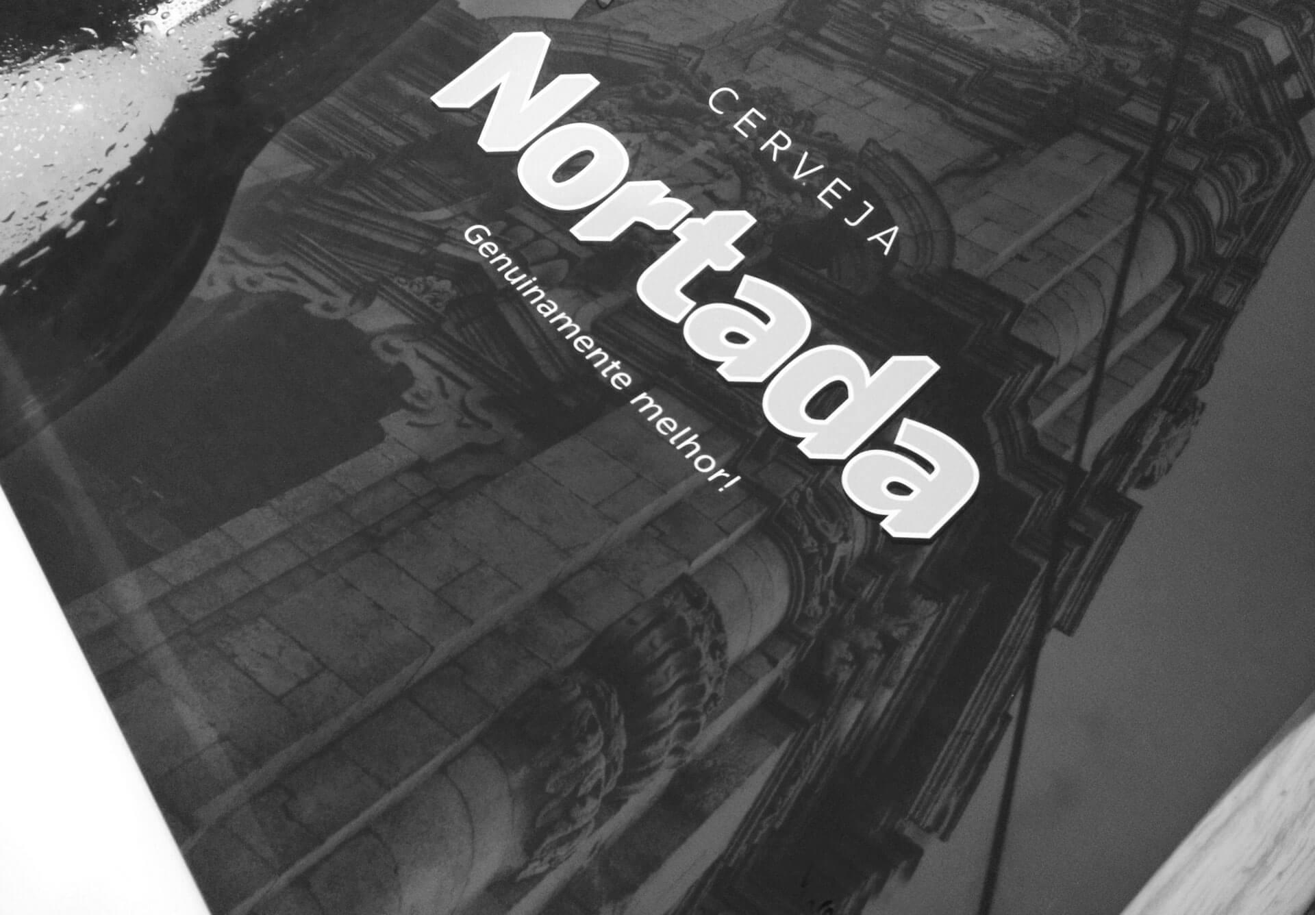 Cerveja Nortada Poster Campanha