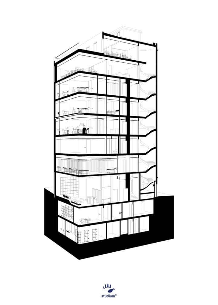 LiGA . building